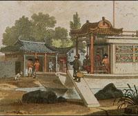 중국과 영국의 대면(건륭제와 영국사신 맥카트니)